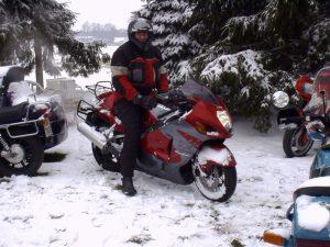 hayabusa im schnee
